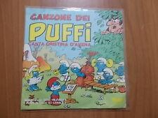"7"" CRISTINA D'AVENA - CANZONE DEI PUFFI / GHIMBIRIGHIMBI 1982"
