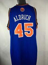 73d30a48c5e Adidas NBA Authentics New York Knicks  45 Cole Aldrich Jersey XXL Length +2
