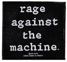 Rage Against the Machine RATM patche officiel écusson licence patch à coudre