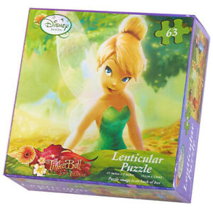 Disney's Fairies Lenticular Puzzle (1) Party Supplies. UPD INC. Free Delivery