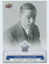 2017 UPPER DECK TORONTO MAPLE LEAFS CENTENNIAL SP #128 CHARLIE CONACHER *50096