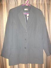 Slate Blue Blazer-Style Jacket Size 12 SLIMTRU BNWT