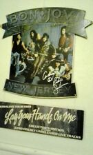Bon Jovi Rare Signed in store hanging mobile..special price..Geuine signed by 5