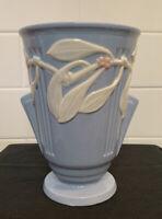 Antique Vintage Art Deco Roseville Laurel Pattern Pottery Vase Japan 1930s