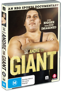 BRAND NEW WWE : Andre The Giant (DVD, 2019)  R4 Documentary