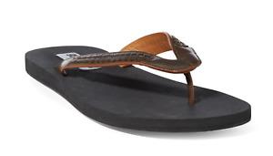 Ralph Lauren Purple Label Leroy Mens Vachetta Leather Weave Sandals Thongs NIB