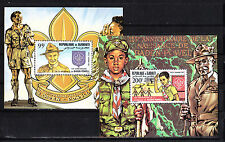 Djibouti  timbre  blocs spéciaux  scout Baden Powell  num: BF PA  169/70  **