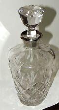 Antigua botella de licor en cristal tallado. VINTAGE (modelo 2)