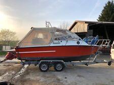 Motorboot Cranchi mit Bodenseezulassung und Kundendienst neu Trailer TÜV neu