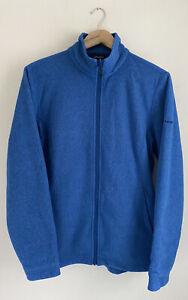 Berghaus blue full zip Fleece Jacket. UK women's size 16
