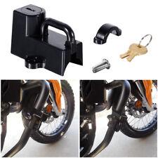 "Black Motorcycle Helmet Lock For Harley Dyna Softail Sportster 7/8"" - 1"" tubes"