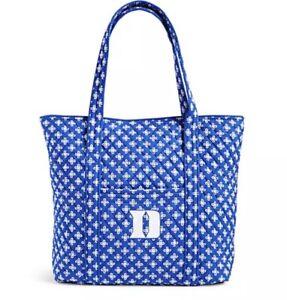 New Vera Bradley Duke University iconic Vera Tote Bag