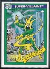 1990 Marvel Universe Series 1 Trading Card #58 Electro