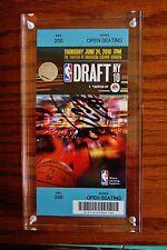 DeMarcus Cousins Autograph Ticket NBA Draft NY 10 Sacramento Kings Basketball