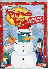 PHINEAS AND FERB A VERY PERRY CHRISTMAS - DISNEY DVD
