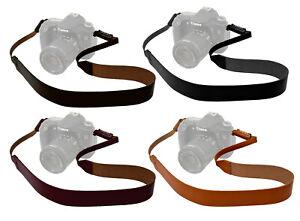 Genuine Leather Camera Neck Strap 4 Colors