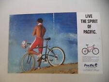 advertising Pubblicità 1991 BICICLETTA MOUNTAIN BIKE PACIFIC