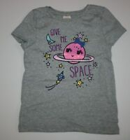 New Gymboree Cosmic Club Line Gray Give Me Some Space Top Tee Size 5T NWT Girls