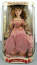 "Collector's Choice Genuine Fine Bisque Porcelain Victorian Clothing 17"" Doll NiB"
