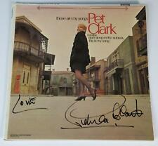 "PETULA CLARK Signed Autograph ""These Are My Songs"" Album Vinyl Record LP"