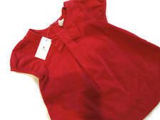 Baby Gap Red Corduroy DRESS set Diaper cover Size 6 - 12 M Months