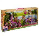 Barbie Sisters Camping Fun Bike Set incl Barbie / Skipper / Chelsea Dolls + B...
