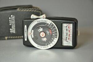 Unittic Model-80 CdS Exposure Light Meter + Case