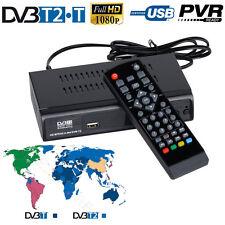 Digital Terrestrial Broadcasting DVB-T2 Convertor Home TV BOX Receiver EPG PVR