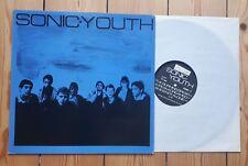 Sonic Youth Eponymous Debut LP Zensor German  1st Press