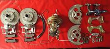 """1964 1967 GM A body chevelle disc brake conversion STOCK RIDE HEIGHT 9"""" BOOSTER"""