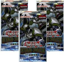 YuGiOh! Star Pack 2014 New and Sealed YuGiOh Booster Packs x3