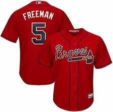 FREDDIE FREEMAN ATLANTA BRAVES YOUTH MEDIUM 10/12 RED MLB BOYS JERSEY