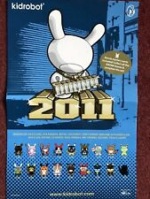 Kidrobot Dunny 2011 A3 Poster By Madl