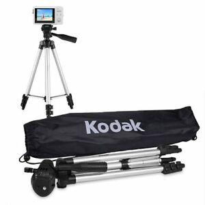 "50"" Kodak TR501 Superior Control Tripod w/3-Way Fluid Pan Head & Bubble Level"