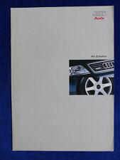 Audi A6 - Zubehör - Prospekt Brochure 10.2000