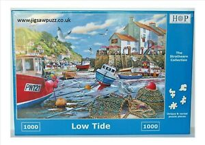 Low Tide New Release Strathearn 1000 House of Puzzles HOP Jigsaw Puzzle