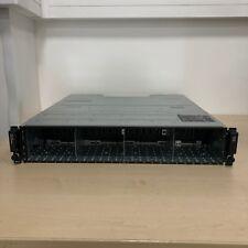 """Dell PowerVault MD1220 2U 24 bay 2.5"""" SAS Storage Array 2x W307K - with Bezel"""