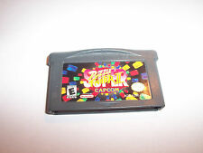 Super Puzzle Fighter II 2 Game Boy Advance SP Game