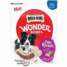 Milk-Bone Wonder Bones Dog Treats, Beef Rawhide, 6 Treats