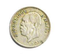 1905 w Haiti 5 Five Centimes KM# 53 Copper Nickel Coin