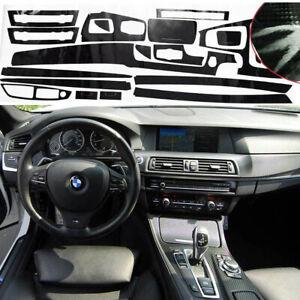5D Carbon Fiber Car Interior Decal Sticker Trim For BMW F10 520i 528i 530i 535i