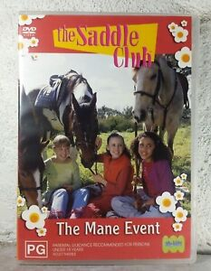 The Saddle Club - The Mane Event DVD 2002 Horse Series ABC -  Australian Release