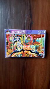 Adorable colorful merry go round horse puzzel