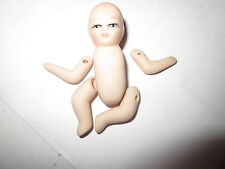 CLEARANCE - 1 miniture porcelain Baby doll Kit with pattern