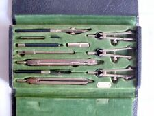 ANTIQUE BOXED NEPTUNE SET DRAFTING TOOLS BY KEUFFEL & ESSER CO NEW YORK