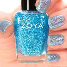 ZOYA #ZP643 MOSHEEN blue glitter nail polish lacquer~Zenith Collection Fall '13