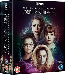 ORPHAN BLACK - COMPLETE COLLECTION SERIES 1-5 [BLURAY] NEW & SEALED