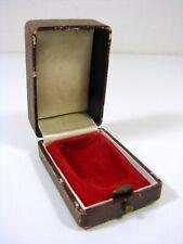 Ancienne Boîte à Bijoux Galuchat D - 4 x 7,5 x 5 cm