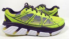 Hoka One One Women's Infinite Running Shoes Acid/Mulberry Purple Size 8.5