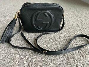 ✴✵✶✷✴✵✶✷Authentic Gucci Soho Disco Leather  Bag Black - Beautiful!